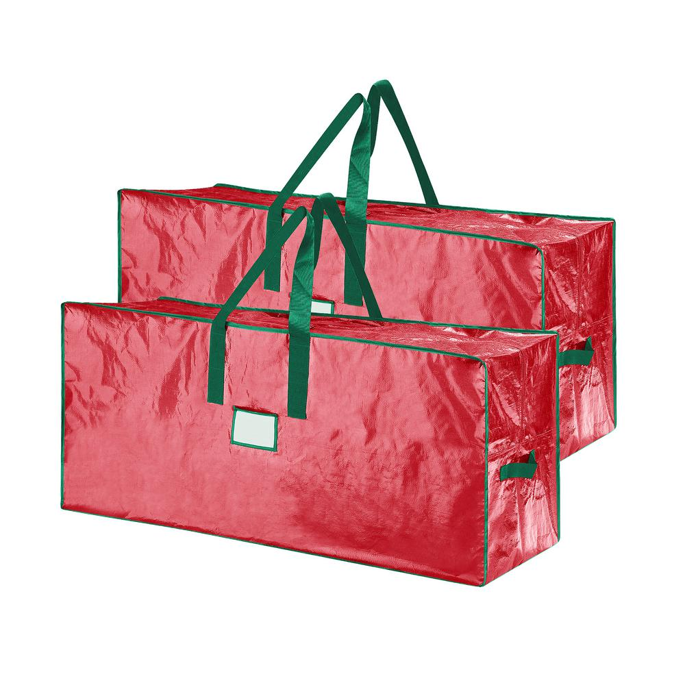 Christmas Tree Storage Bag.Elf Stor Christmas Tree Storage Bags For Trees Up To 7 5 Ft Tall 2 Pack