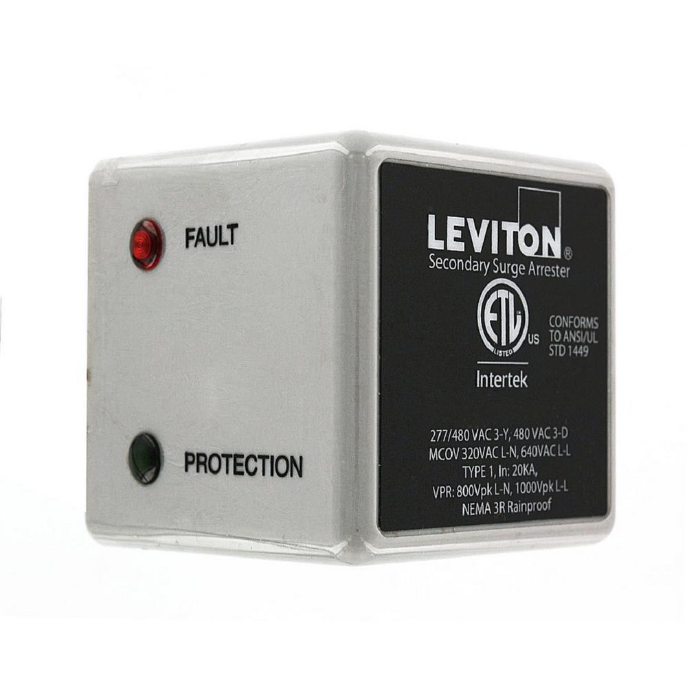 Leviton 3 Phase 277/480-Volt WYE or 3-Phase 240-Volt Delt...