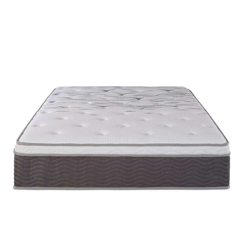 Zinus Performance Plus Extra Firm 12 In Queen Spring Mattress Hd