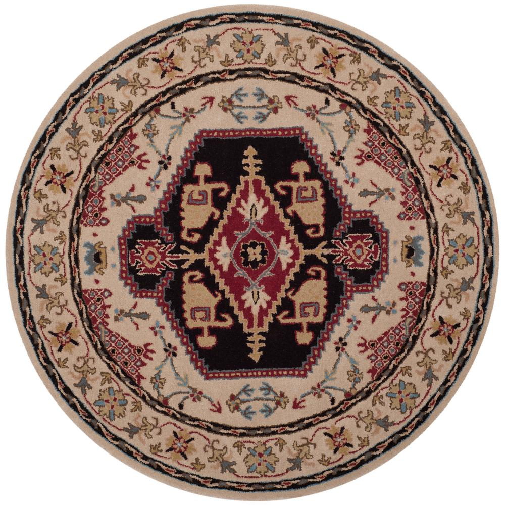 10 Ft Round Wool Rug