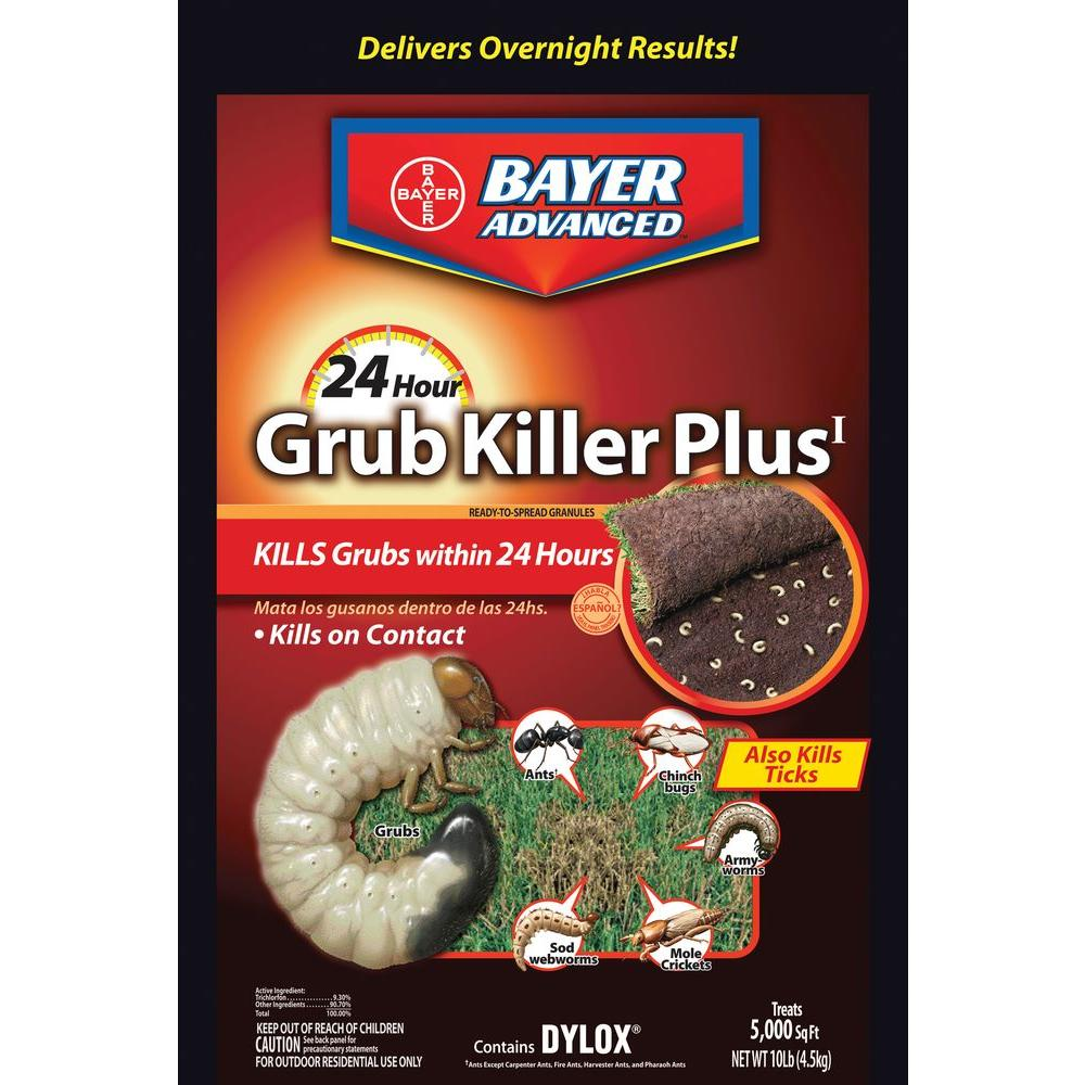 Bayer Advanced 10 lb. 24-Hour Grub Killer Plus Granules