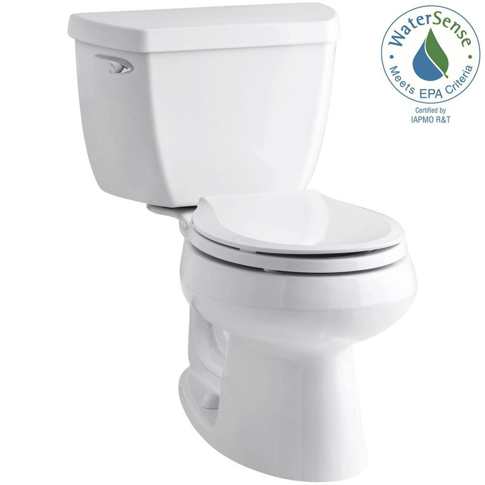Kohler Wellworth Classic 2 Piece 1 28 Gpf Single Flush