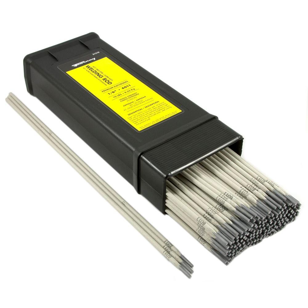 Forney 1/8 in. E6011 Welding Rod 10 lb.-31210 - The Home Depot
