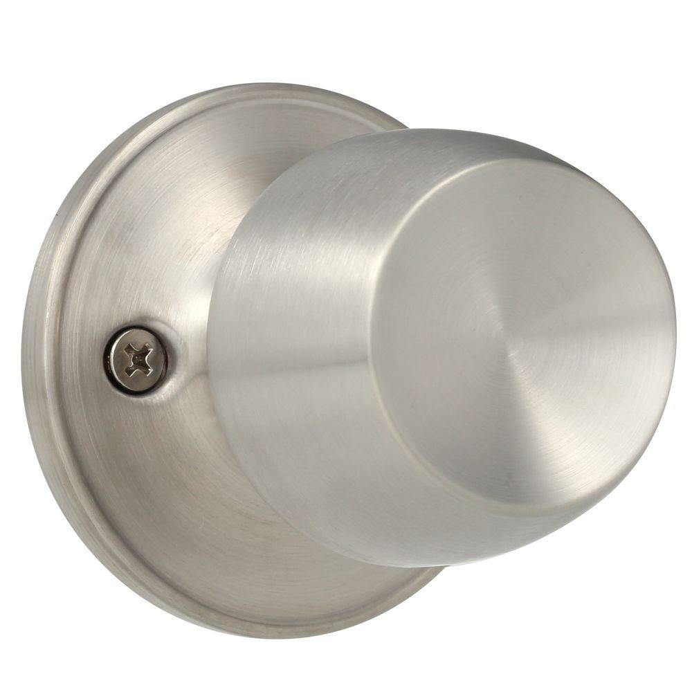 Superieur Defiant Brandywine Stainless Steel Dummy Door Knob