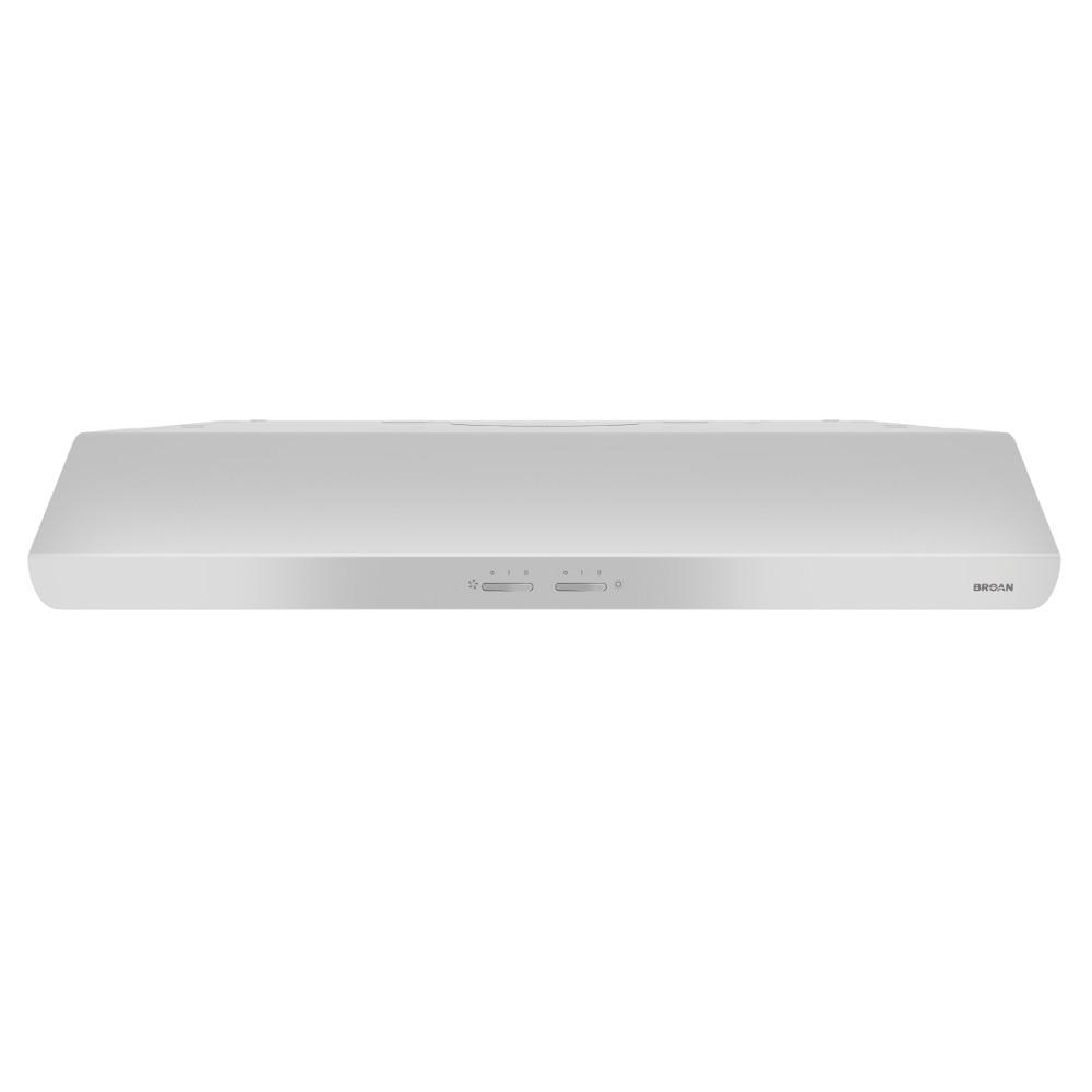 Nutone Acs Series 30 In Convertible Under Cabinet Range Hood With Wiring Diagram Light White Acs30ww The Home Depot