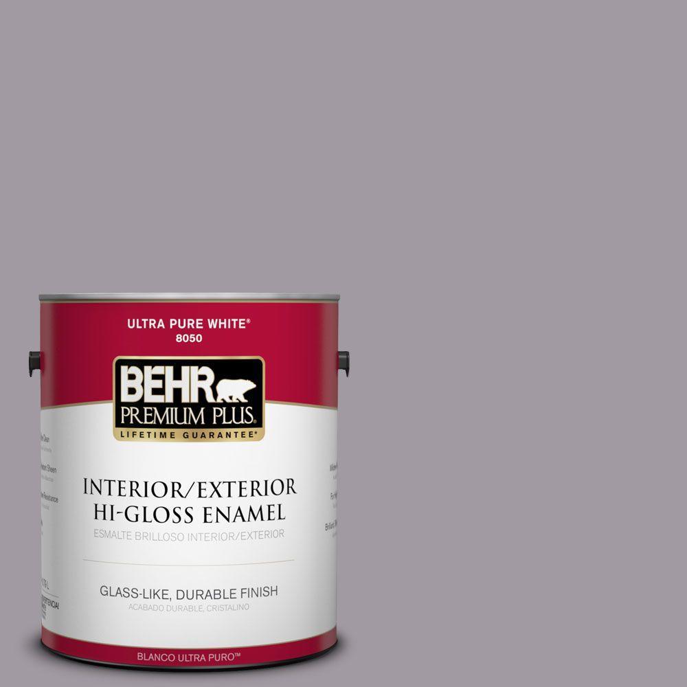 1-gal. #N570-3 Art Nouveau Glass Hi-Gloss Enamel Interior/Exterior Paint