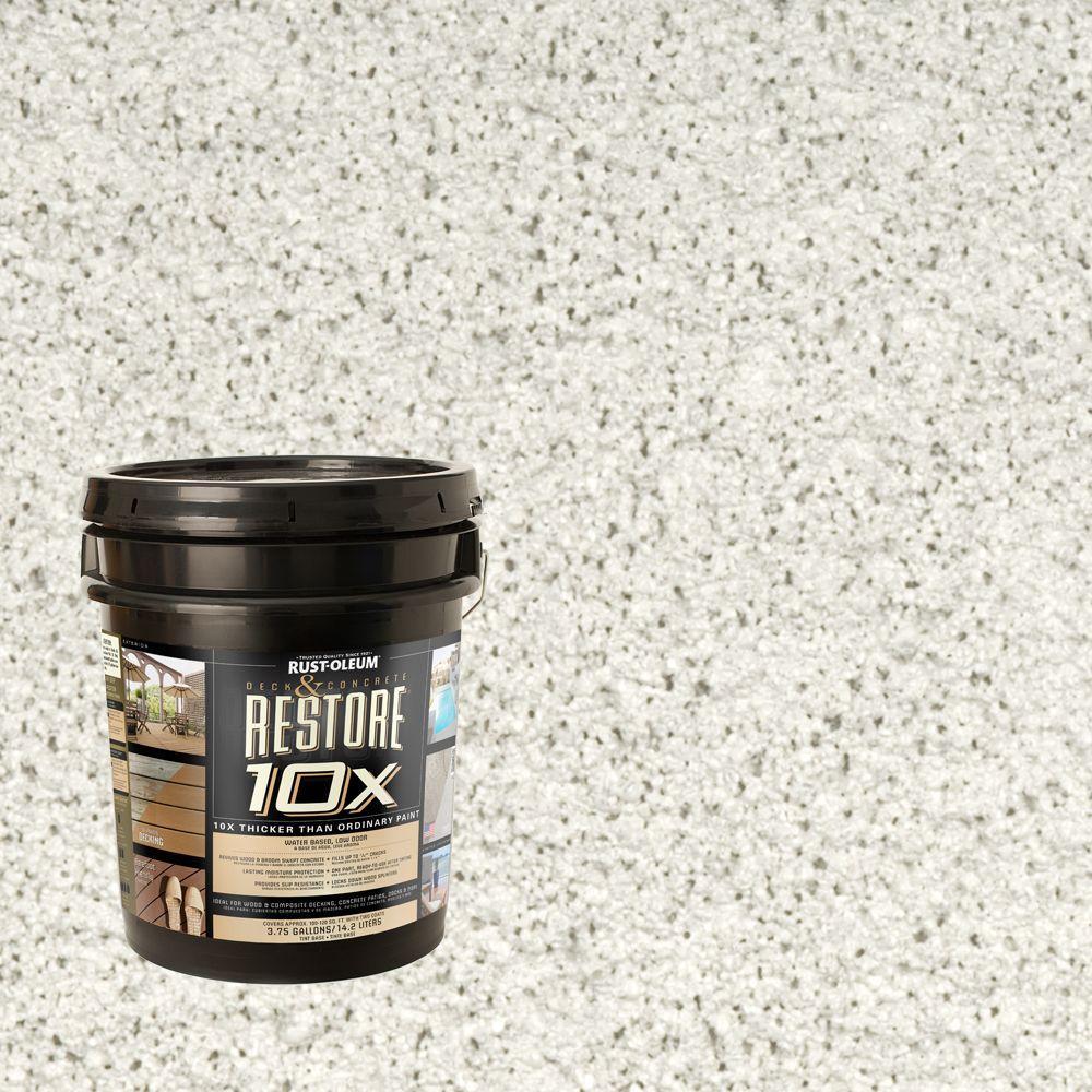 Rust-Oleum Restore 4-gal. White Deck and Concrete 10X Resurfacer