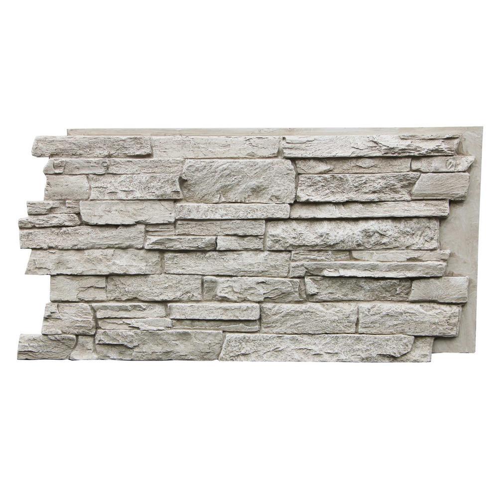 Tritan Bp Canyon S Edge Faux Stack Stone 48 3 4 In X 24 3
