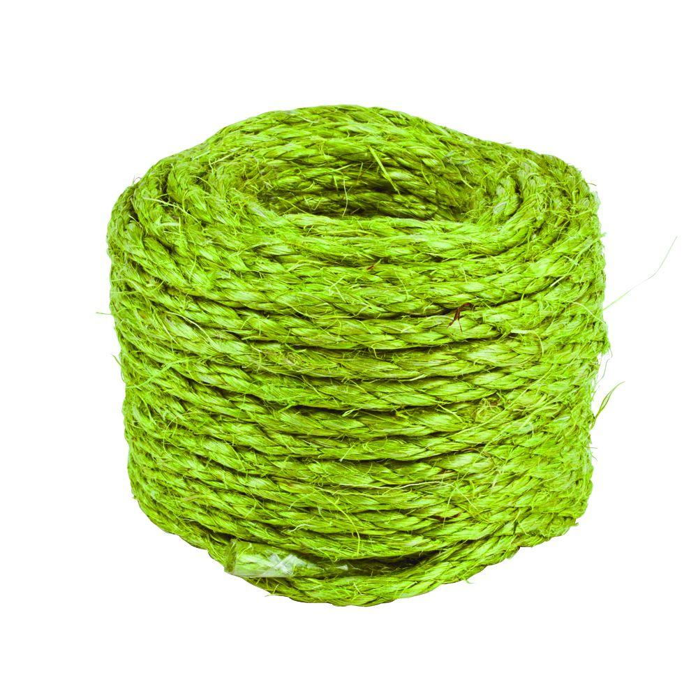 Crown Bolt 3/16 in. x 50 ft. Garden Sisal Rope
