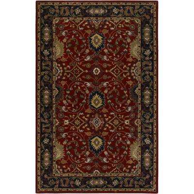 John Red 12 ft. x 15 ft. Area Rug