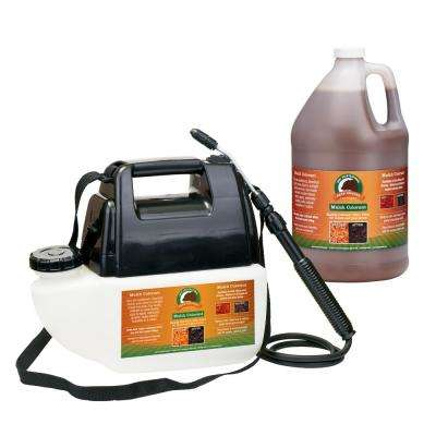1 Gal. Brown Mulch Colorant with Battery Operated Sprayer Applicator