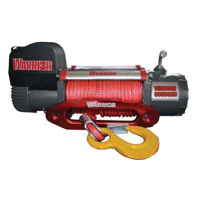 9,500 lb. Capacity High Speed 12-Volt Electric Winch with 98 ft. Synthetic Rope