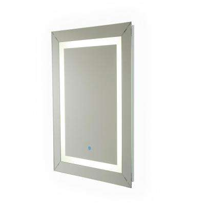 Modena 31.5 in. x 23.5 in. Hardwired LED Illuminated Mirror