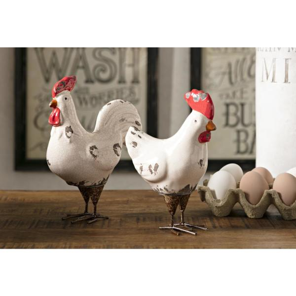 Quinn Roosters (Set of 2)