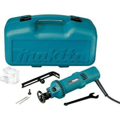 5 Amp Drywall Cut-Out Tool Kit with Circular Guide, Vacuum Dust Collection Cover, Case