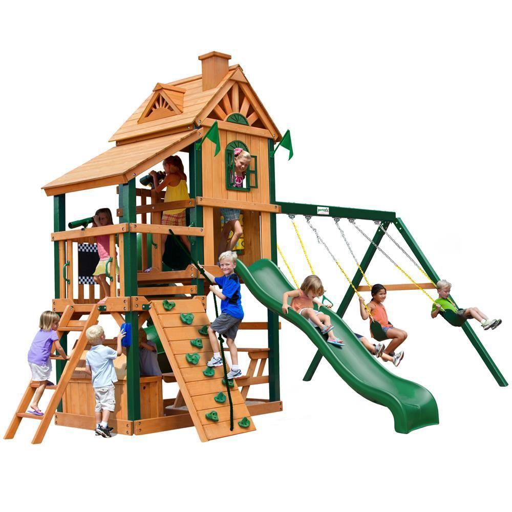 Gorilla Playsets Laredo Cedar Playset