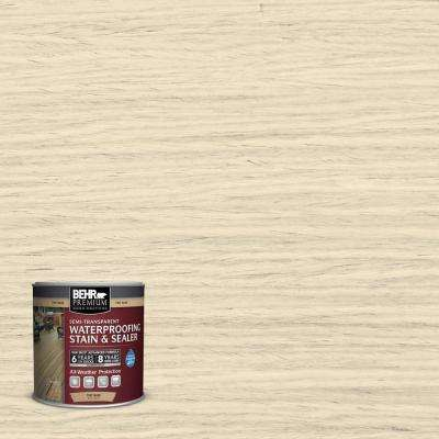 #ST-157 Navajo White Semi-Transparent Weatherproofing Wood Stain