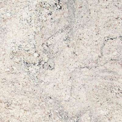 3 in. x 3 in. Granite Countertop Sample in Salinas White