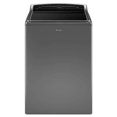5.3 cu. ft. High-Efficiency Chrome Shadow Top Load Washing Machine with ColorLast