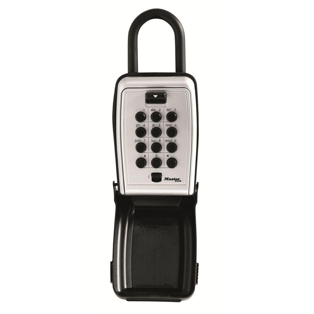 Portable Push Button Lock Box