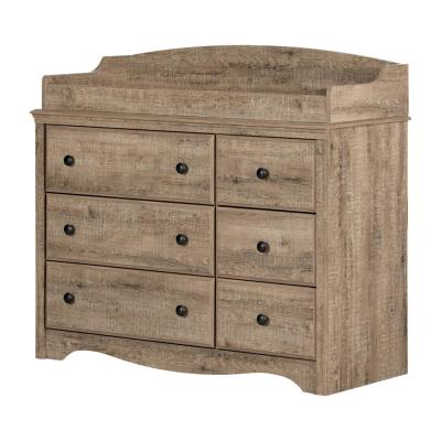 Angel Weathered Oak Changing Table
