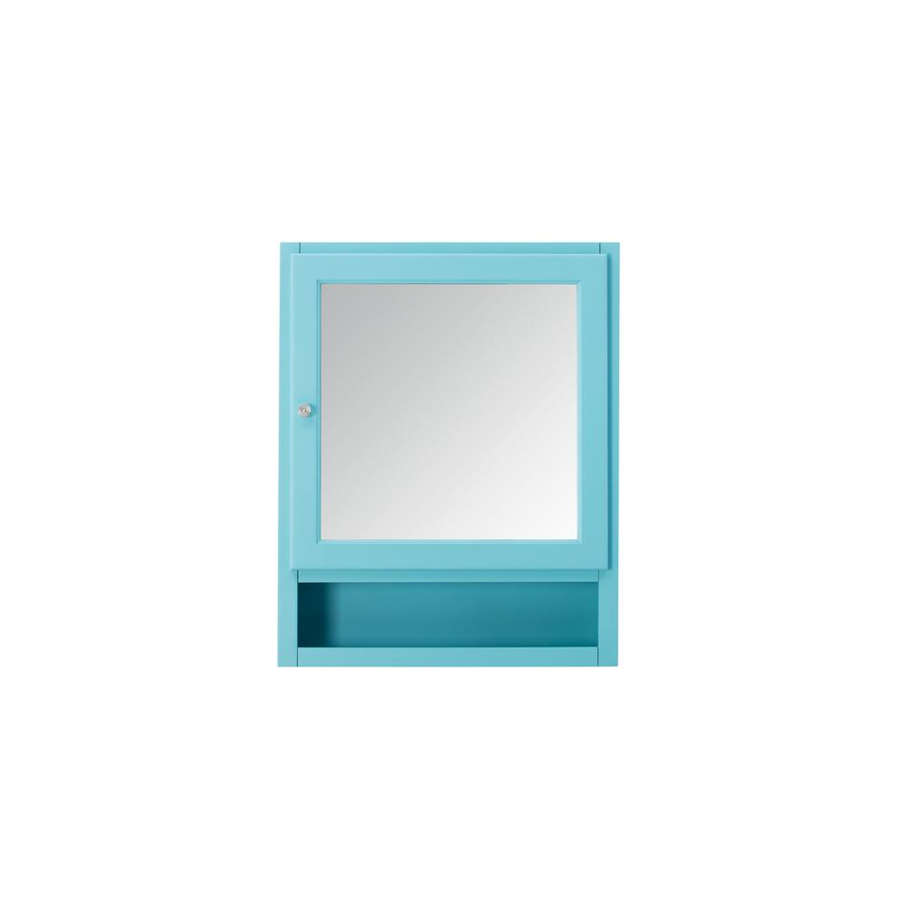 Ridgemore 24 in. x 30 in. x 6.5 in. Mirrored Wall