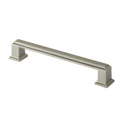 ROMA 5 in. (127 mm) Center-to-Center Zinc Alloy Brushed Nickel Drawer Pull (25-Pack)