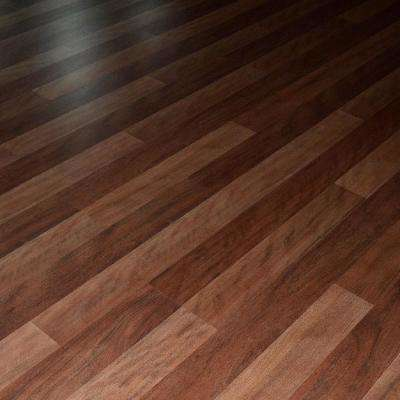 Coastal Black Butt 8 mm Thick x 7.72 in. Wide x 48 in. Length Click-Locking Laminate Flooring Plank (20.51 sq.ft./case)