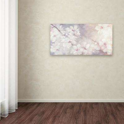 """24 in. x 47 in. """"Cherry Blossoms"""" by Julia Purinton Printed Canvas Wall Art"""