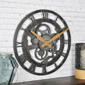 FirsTime Oxidized Gears Wall Clock by FirsTime