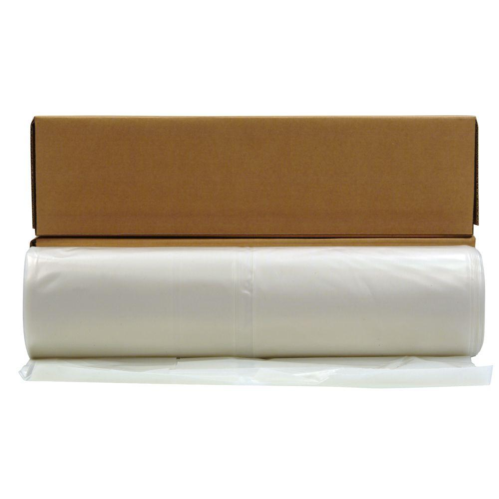 20 ft. x 100 ft. Clear Plastic Sheeting