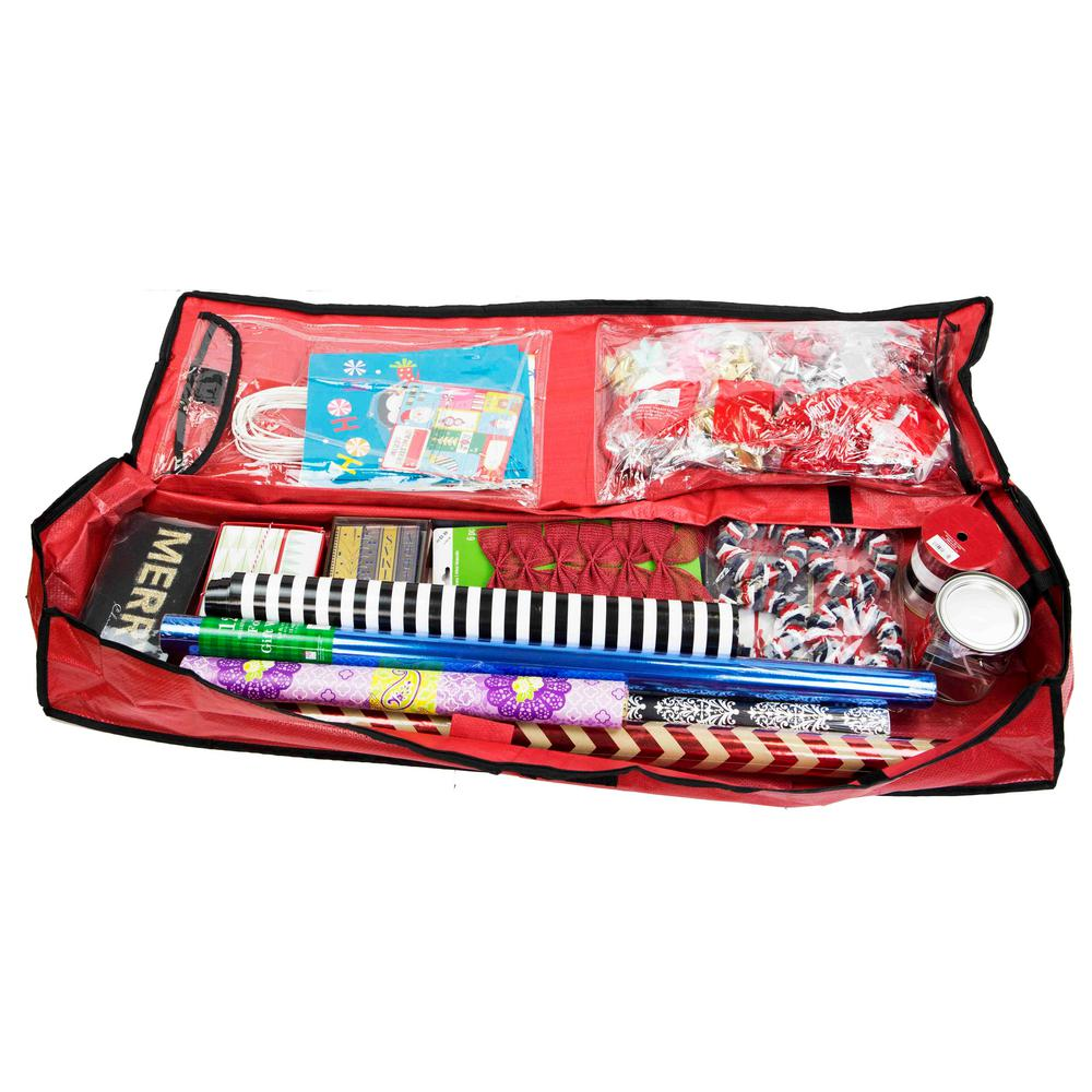 wrapping paper organizer home basics wrap organizer cs49881 the home depot 29388