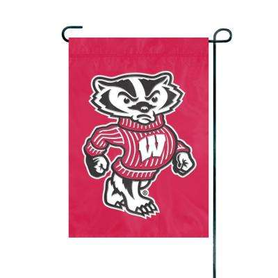 Wisconsin Badgers Premium Garden Flag