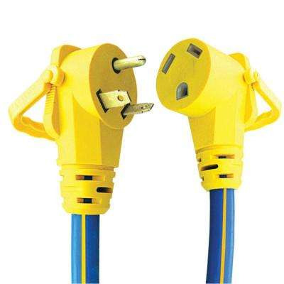 30 Amp RV Extension Cord With E-Zee Grip - 15'