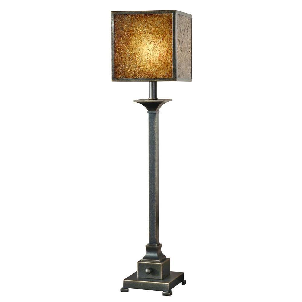 Global Direct 33 in. Rustic Bronze Buffet Lamp
