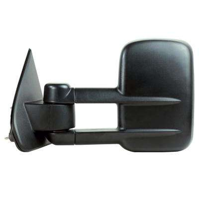 Towing Mirror for 14-17 Silverado/Sierra 1500 15-17 2500/3500 Textured Black Extendable 1st Design Folding LH