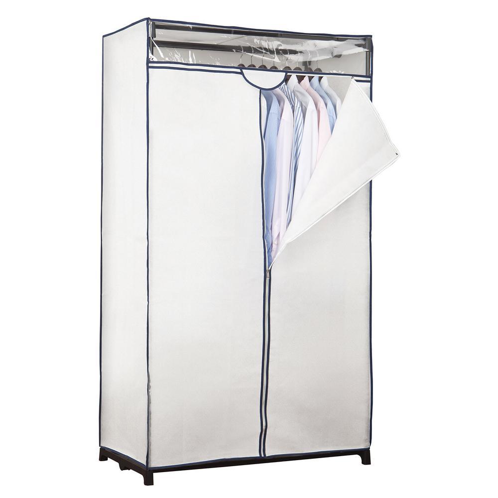 36 in. x 63 in. x 19 in. White Portable Closet