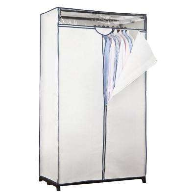 36 in. x 63 in. x 19 in. White Portable Closet