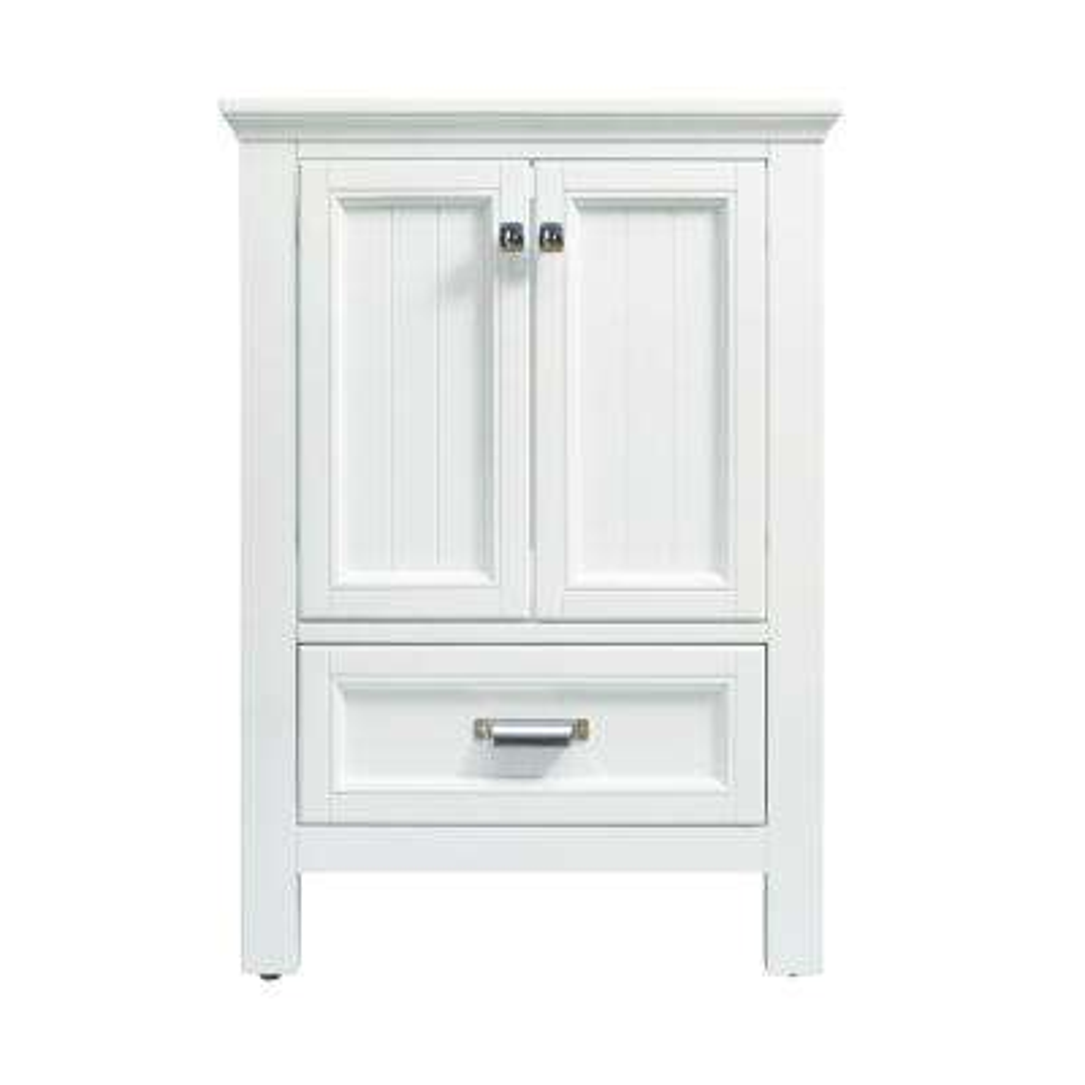 Brantley 24 in. W x 21-1/2 in. D Bath Vanity Cabinet Only in White