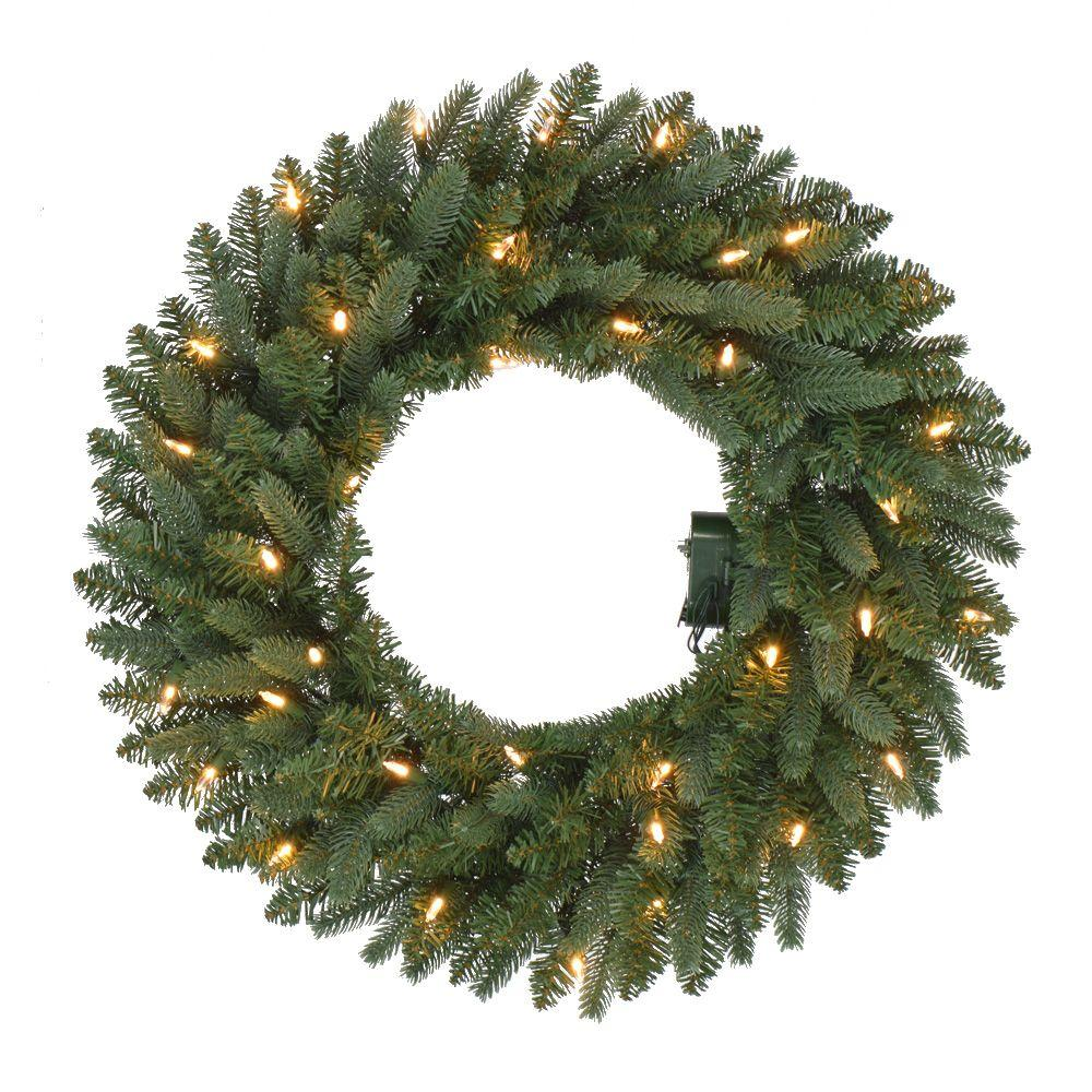 battery christmas wreaths u0026 garland christmas decorations