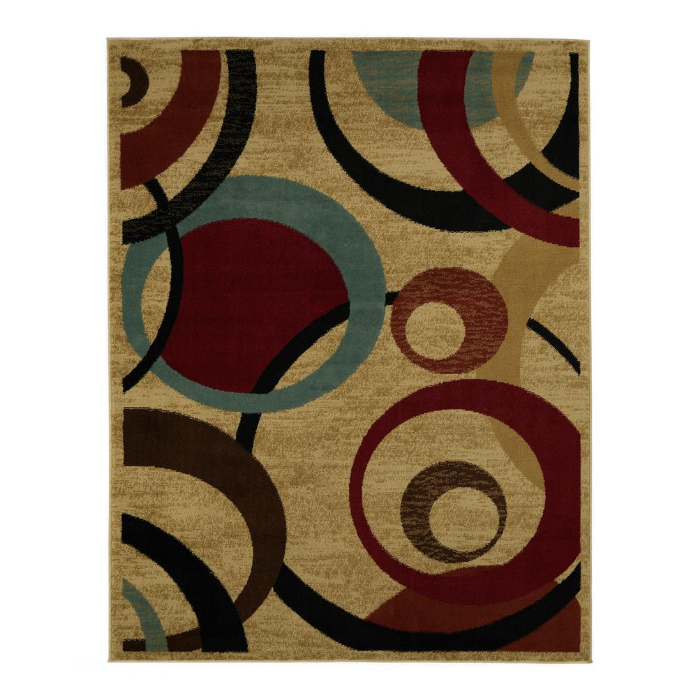 This Review Is From Contemporary Abstract Beige 5 Ft X 7 Area Rug