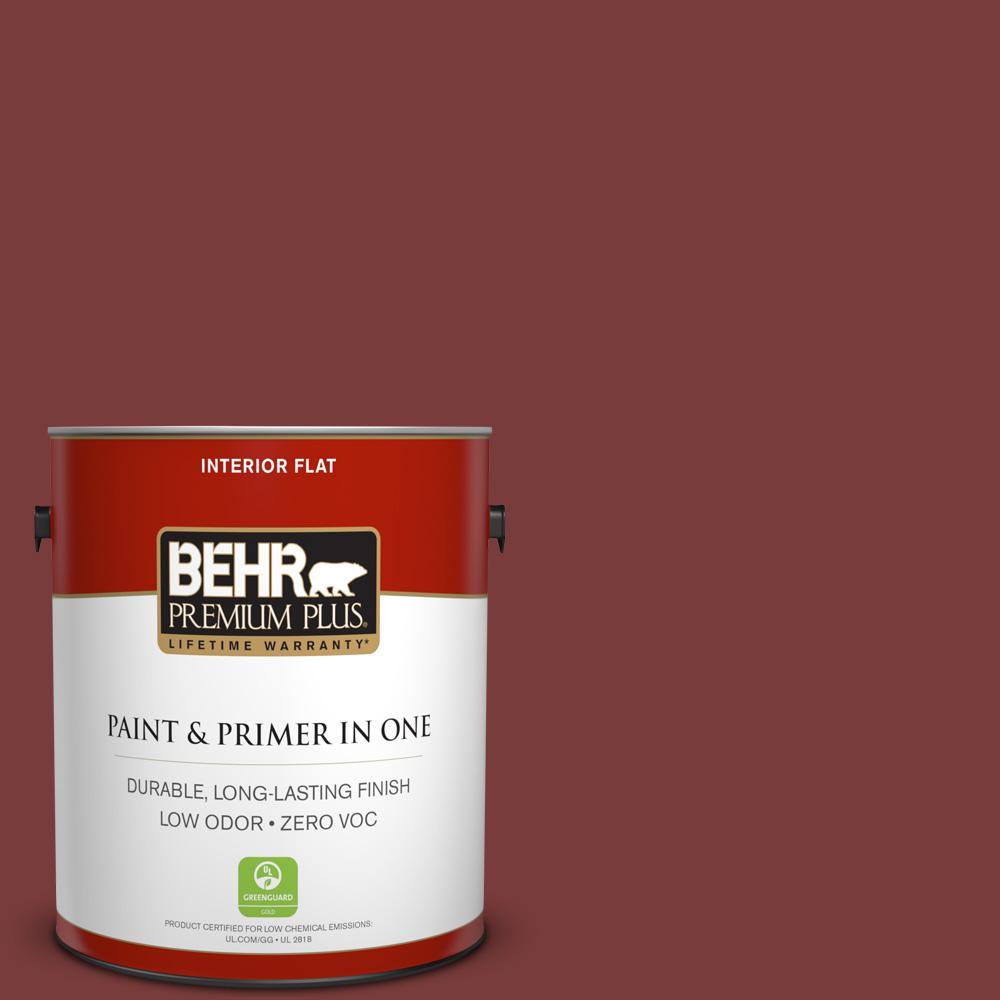1 gal. #PPU2-19 Royal Liqueur Zero VOC Flat Interior Paint
