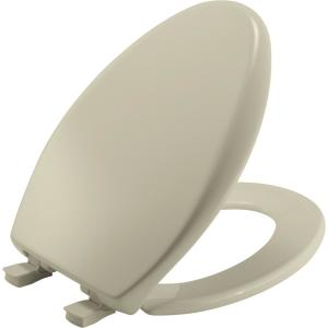 Bemis Affinity Elongated Closed Front Toilet Seat In Bone