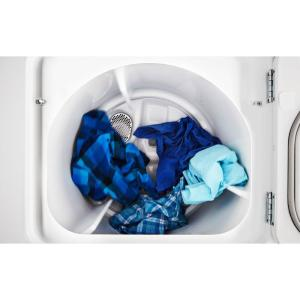 Maytag 70 cu ft 240 volt white electric vented dryer with wrinkle 4 fandeluxe Images