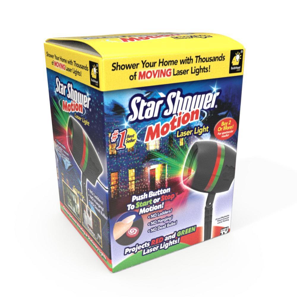 Motion Laser Light Projector