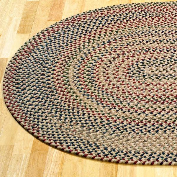 Colonial Mills Millwork Light Green 5 Ft X 7 Ft Tweed Indoor Oval Area Rug Mw05r060x084 The Home Depot
