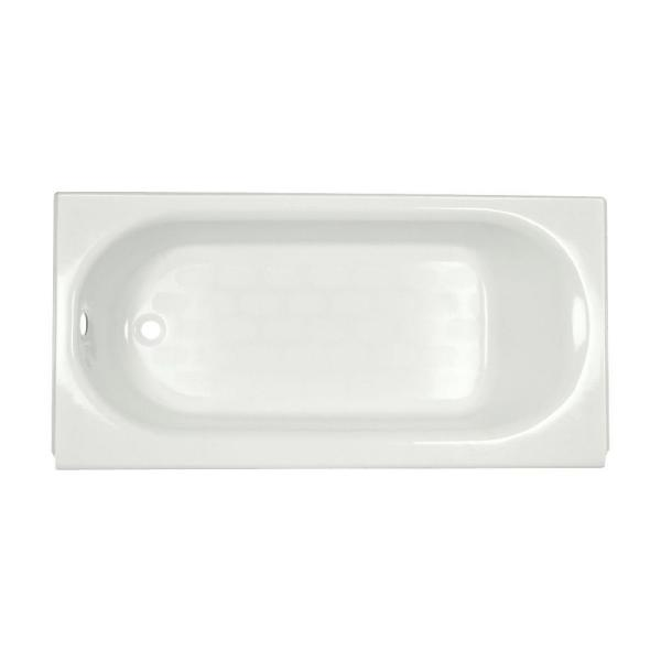 Princeton 60 in. x 30 in. Americast Apron-Front Bathtub with Left Hand Drain