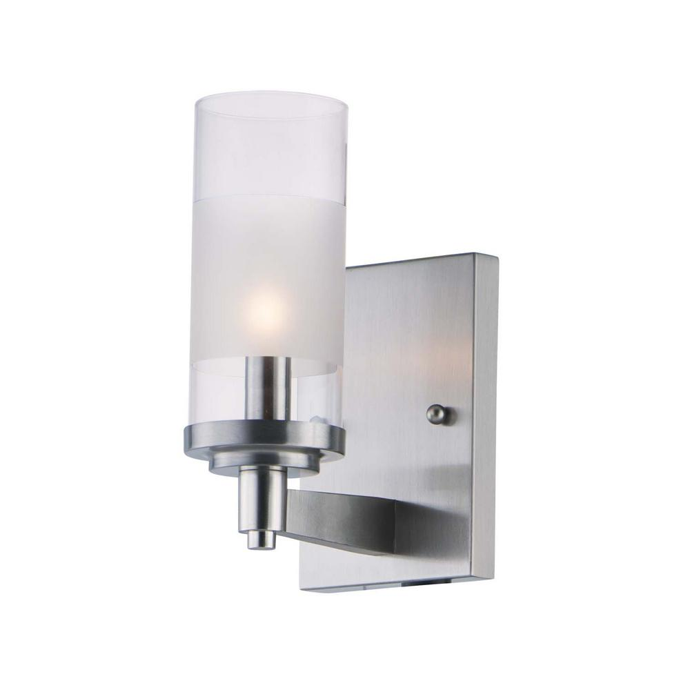 Crescendo 4.25 in. Wide Satin Nickel Sconce