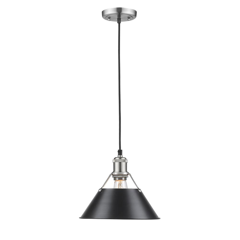Golden lighting orwell ab 1 light aged brass pendant with rubbed this review is fromorwell pw 1 light pewter pendant with black shade aloadofball Gallery