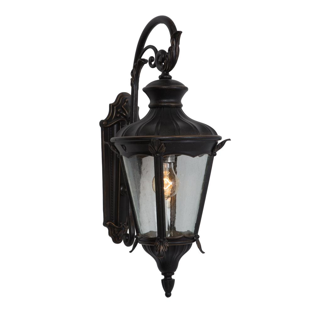 Charming Yosemite Home Decor Leonardo Collection 1 Light Oil Rubbed Bronze Outdoor Wall  Mount Lamp